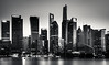(Rob-Shanghai) Tags: shanghai mono china city cityscape night river huangpu wfc skyscraper towers