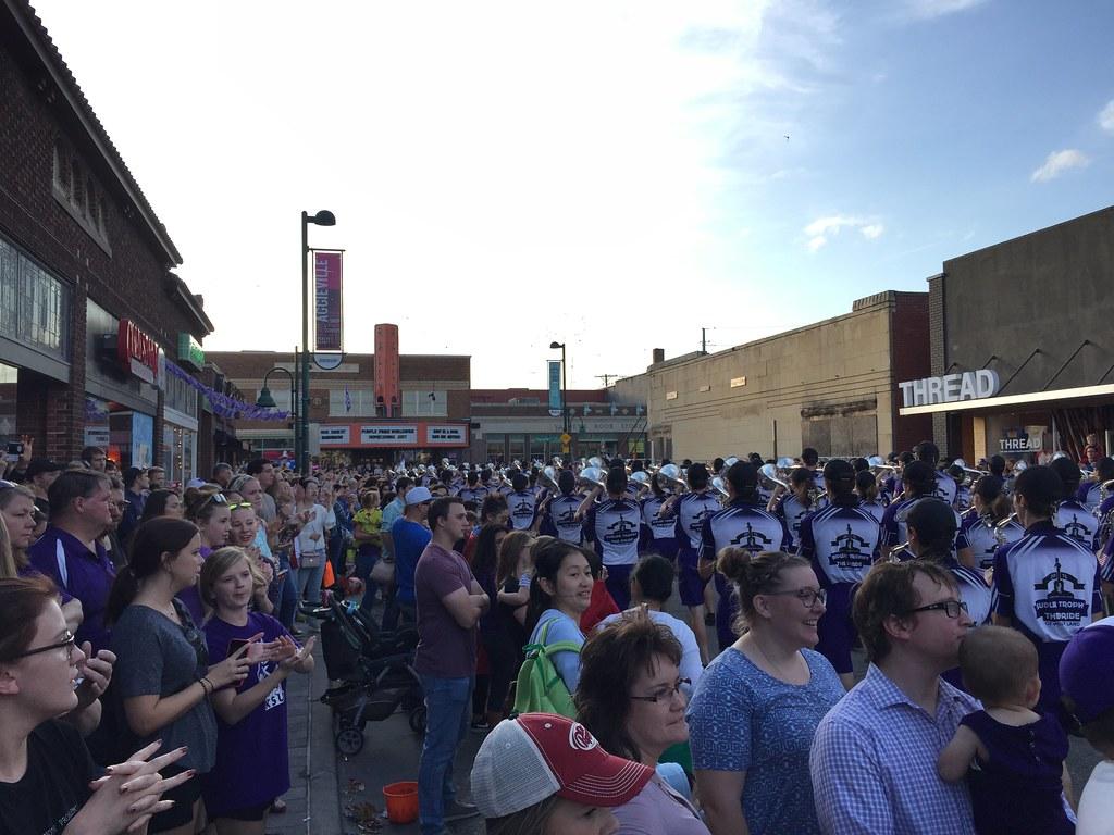 KSU homecoming parade 2017