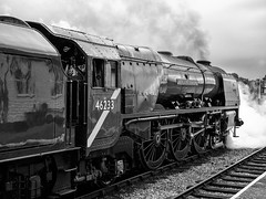 MRC2017-2 (Dreaming of Steam) Tags: 6233 46233 duchess duchessofsutherland heritage heritagerailways lms midlandrailwaycentre princesscoronation princesscoronationclass railway stainer steam steamengine sutherland train vintage engine locomotive railroad smoke steamlocomotive