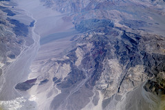 Aerial view of the Last Chance Range and the Saline Range, Death Valley National Park, Inyo County, California (cocoi_m) Tags: aerialphotograph aerial lastchancerange salinerange deathvalleynationalpark inyocounty california nature geology geomorphology desert mojavedesert
