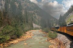 Steaming along the Animas River R1004292 Durango & Silverton RR (Recliner) Tags: baldwin dsng drg
