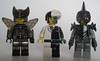 Dragonfly, Komodo, Buzzsaw (Quickblade22) Tags: superpowers supervillains comics comicbook custom brickwarriors brickforge