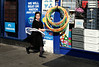Hula Girl (Becky Frances) Tags: beckyfrances city candid colour colourstreetphotography canpubphoto documentary england eastlondon fuji fujifilm fujix hackney london lensblr northlondon streetphotography socialdocumentary stamfordhill urban uk 2017