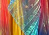 Blowing in the wind (Grazerin/Dorli Burge) Tags: thirdstreetpromenade forsale vendor santamonica california fabric pleated gauzy pastel color elements