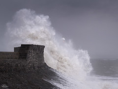 Storm Brian (JRTurnerPhotography) Tags: fujifilm fujix fujixt2 fujinonxf50140mmf28 fujifilmx jaketurner jrturnerphotography picture print image photo photography photograph photographer mirrorless mirrorlesscamera telephoto zoomlens longlens longlensphotography 50140mm porthcawl bridgend southwales wales welsh uk unitedkingdom gb greatbritain britain british europe eu bristolchannel riversevern severn sea seascape seaside water storm stormbrian wind waves porthcawllighthouse lighthouse spray channel october 2017 brian