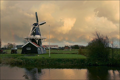 Zaagmolen ten Boer (TeunisHaveman) Tags: mill sawmill tenboer provinciegroningen groningslandschap molen zaagmolen bovenrijge