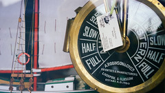 """""""Slow. Half. Full."""" (Eric Flexyourhead) Tags: langley fortlangley canada britishcolumbia bc gloverroad countrylaneantiques shop store antique antiques window display old retro vintage shipstelegraph arobinsonco reflections brass shiny 169 sonyalphaa7 zeisssonnartfe55mmf18za zeiss 55mmf18"""