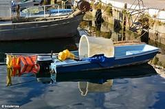 """At it, lads! We shall sail!"" (maybe) (boisderose) Tags: barca boat tinozza tin mare sea trieste sacchetta 2017 boisderose blu blue azzurro bacinosacchetta cielo sky nuvole clouds golfo barche boats"