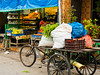 Small grocer near the Grand Bazaar, getting a delivery, maybe? (debra booth) Tags: 2017 grandbazaar india pondicherry pudicherry puducherry copyrighted wwwdebraboothcom