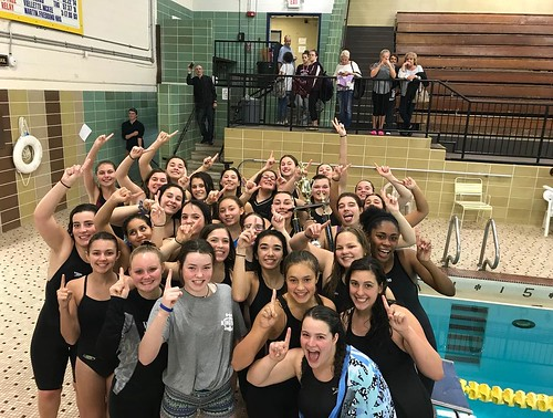 Congratulations to Girls Swim for winning NVL's for the first time in Woodland history!!💛Woodland's final score was 791, beating Seymour by 11 points.