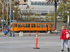 Explorer of the Seas - Pacific Coastal Cruise (Jasperdo) Tags: sanfrancisco california trolley streetcar embarcadero car1815