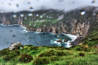 Slieve League. County Donegal. Good place, bad weather.
