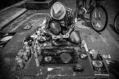 Penang Mural Art Street (AminC Photography) Tags: green phuket watchalong thailand travel photography starcruise starcruiselibra travelgraphy sonyalpha sonya6000 sigma sigma19mm penang muralart blackandwhite streetart