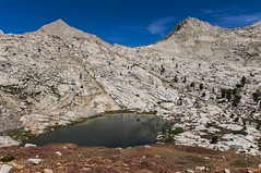 Upper Crystal Lake, Sequoia National Park (benereshefsky) Tags: sequoia sequoianationalpark nationalpark mountains landscape nature california unitedstates usa mineralking alpine sierranevada sky mountain mountainside water lake
