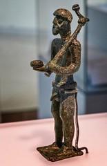 Statuette of a Votary (Gift Giver) Sardinian 9th-7th century BCE Bronze (mharrsch) Tags: votary worship religion offering nuraghi sardinia ancient 9thcenturybce 8thcenturybce7th century bcebronzeart institute chicago illinois mharrsch figurine statue sculpture