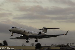 N767FL G550 (KSBD Photo) Tags: burbank california unitedstates us n767fl g550 gulfstreamfan gulfstreamforever gulfstream glf5