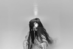 (Violette Nell) Tags: portrait nb noiretblanc surimpression doubleexposure doubleexposition bw blackandwhite analog violettenell feelings body vintage youth dark poetry aesthetic 35mm girl fineart monochrome mood france art ethereal surreal human model
