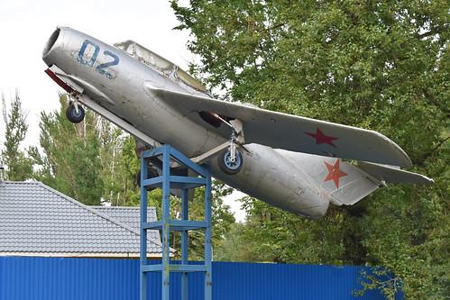 Mikoyan-Gurevich MiG-15UTI '02 blue'