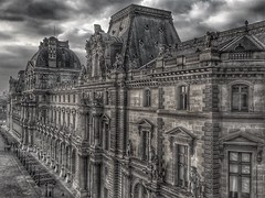 Paris  France ~ Louvre Museum ~ Historic Monument