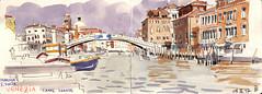 171004venezia01 (Vincent Desplanche) Tags: venise venezia sketching sketch croquis urbansketchers italia italy aquarelle watercolor matiteinviaggio seawhiteofbrighton seawhitesketchbook