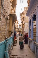 Rajasthan - Jaisalmer - Fort Streets-4