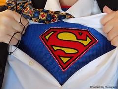 My Hero (rachael242) Tags: superman superhero hero super symbol shirt tie jacket buttons glasses dressup abstract costume flickr heros