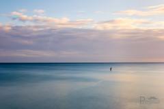 Lonely at Sea (Pixi.St) Tags: sheringham norfolk northnorfolkdistrict norfolkcoast northnorfolk sea meer sky himmel wolken clouds sunrise sonnenaufgang calm ruhe seascape ndgrad nd coast küste longexposure langzeitbelichtung