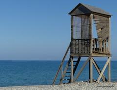 Baywatch..Kolymvari style.. HFF (robbie20161) Tags: forgotton neglected abandoned sea beach sky isolation old shingle kolymvari kolymbari crete sunshine fencedfriday hff fencefriday