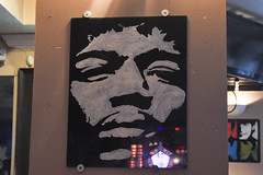 da rock bar (werewegian) Tags: rock bar darroch gourock jimi hendrix painting beatles werewegian oct17