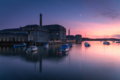 Royal William Yard (Rich Walker75) Tags: royalwilliamyard plymouth devon landscape landscapephotography landscapes architecture building buildings boat harbour marina boats sunset bluehour sky evening dusk outdoor canon england efs1585mmisusm eos100d eos