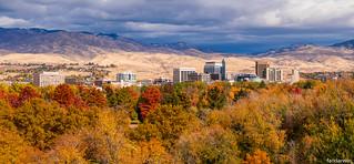 Boise Fall Panorama 2017