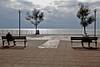 HeavyThinkers (lauttone1) Tags: salerno sa italia italy campania seaside sea clouds cloudy thinkers thinking pensatori third age canon eos 1d mark iii streetphotography street podium
