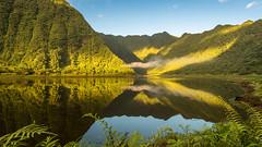 X..... (boyeriris) Tags: techer techerfabien fabien reunion reunionisland lac landscape waterscape oceanindien montagne sunrise grandetang etang eau