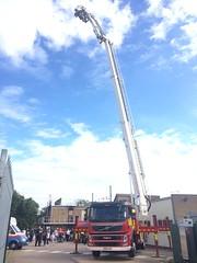 Bedfordshire Fire & Rescue Bedford ALP (slinkierbus268) Tags: bedfordshirefireandrescue bedfordshire fireandrescue fireappliance fireengine firestation bedford kempston volvo alp aerial ladder platform angloco