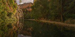 Lago del Espejo. (Amparo Hervella) Tags: monasteriodepiedra lagodelespejo españa spain lago agua paisaje reflejo naturaleza color largaexposición d7000 nikon nikond7000 comunidadespañola panorámica