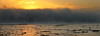 Mist on the Water (PJ Swan) Tags: mist scotland winter riverforth estuary magicmoments cloud sunset fife culross