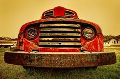 Survivor (Jon Scherff) Tags: fordtruck fordf6 ford rust redtruck nikond810 nikon1424mmf28afs 1949
