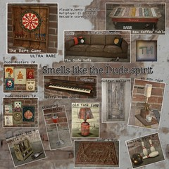 ..::THOR::.. Smell Like The Dude Spirit - to the Mainstore now! (andraus thor) Tags: gacha key gatcha playable set decor sl secondlife game whiterussian dude lebowsky lamp dartgame sofa table piano shelf poster rug dream beer thor mancave bowling takeiteasy metaverse 3d digital