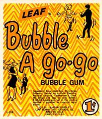 Bubble a Go-Go (grooveisintheart) Tags: gum gumball vending machine cards vendingmachinecards gumballmachinecards vintage ephemera 1960s 1970s groovy mod typography graphicdesign illustration vintagefood vintagecandy vintagegum vintageadvertising