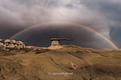 _8107028 (captured by bond) Tags: kingofwings newmexico kingofwingsnewmexico badlands sandstone rainbow