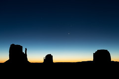 Sunrise at Monument Valley (brianbaril_photography) Tags: brianbaril arizona az autumn america beautiful d850 landscape navajo monument valley sunrise clear sky venus butte