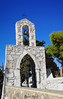 Friedhofseingang in Mandraki (Arven-Jula) Tags: mandraki níssyros mittelmeer ägäis