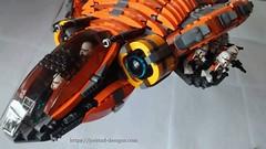 3 (Jorstad Designs, LLC) Tags: lego star wars jorstad designs custom dropship phantom halo ucs moc