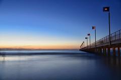 Frankston Beach (jekjek_18) Tags: bridge victoria australia beach
