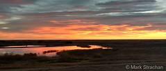 October 22, 2017 - A panoramic view of a beautiful sunset. (Mark Strachan)