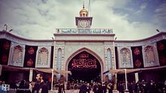 Mola Hussain Main Gate (YasirZaidi110) Tags: shrine karbala mola imam hussain door gate bab e qibla yz photo photography production iraq