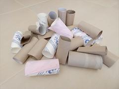 Trognons de rouleaux de papier toilette aussi appelé PQ (♥ L'humoureuse :-)) Tags: pq papiertoilette texte humour histoiredupq