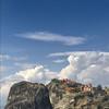up shot clouds (garybill) Tags: greece meteora kastraki kalambaka