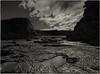 eagles nest, low tide (Kenneth Rowe) Tags: eaglesnest monochromia blackandwhitelandscape bw monochrome