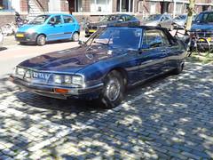 1973 Citroën SM Cabriolet (Skitmeister) Tags: 82ya83 carspot car auto pkw holland nederland niederlande netherlands skitmeister 2017